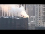 BREAKING Trump Tower on FIRE after electrical box overheats on the roof of the building