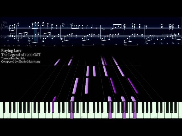 【Piano】Ennio Morricone - Playing Love (5k Subs)