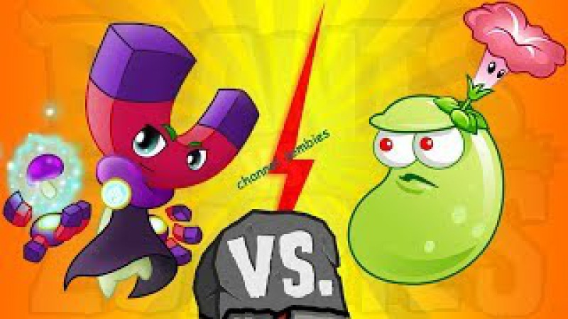 Plant vs Zombies China Laser Bean vs Magnet Shroom in Wild West 17