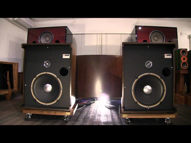 JBL D130 075 in modified 4331 cabinet produced by KENRICK SOUND (1/2)