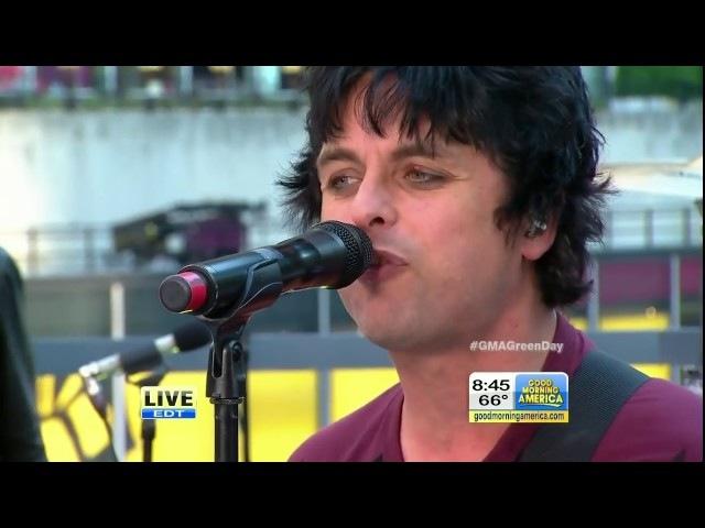 Green Day (2012.09.14) Good Morning America, New York, New York, USA (Pro1) (HD)