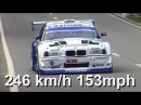 Georg Plasa with Onboard at fastest Hillclimb St-Ursanne 2006! BMW 320 V8, 560HP, 890kg. Remastered