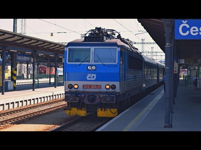 Ex 532 JOSEF SEIDEL (Český Krumlov ► Praha-Holešovice) ve stanici České Budějovice