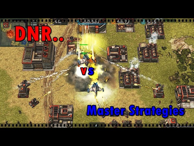 Art of war 3 Master Strategies (18 rank) vs DNR.. (18 rank) blue boosts
