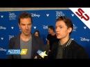 Интервью с актёрами Войны Бесконечности на D23