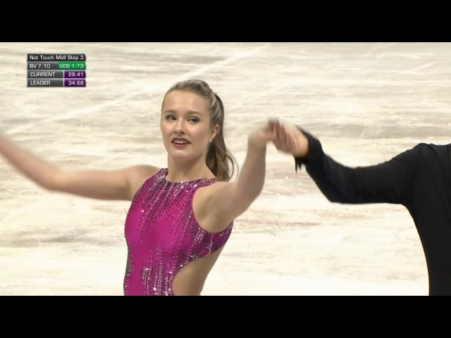 JWC2018 Christina CARREIRA / Anthony PONOMARENKO SD