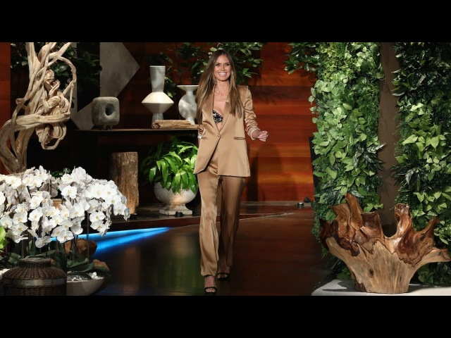 Heidi Klum Doesn't Feel Too Old to Model