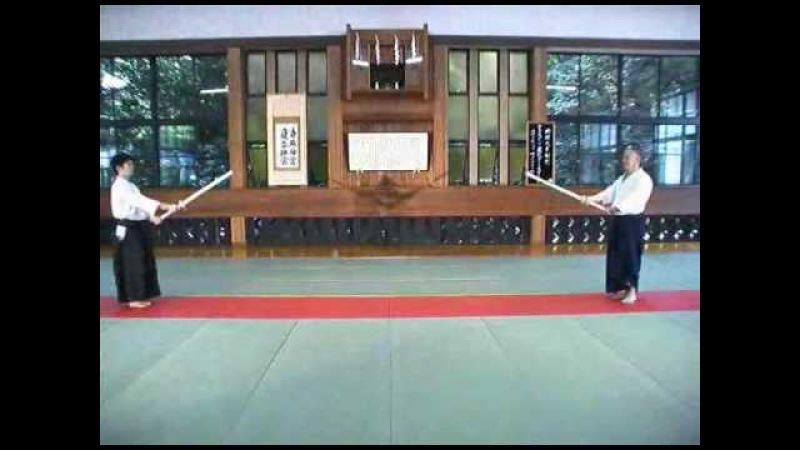 Aikido - Boken INABA MINORU KASHIMA SHIN RYU KENJUTSU-2.avi