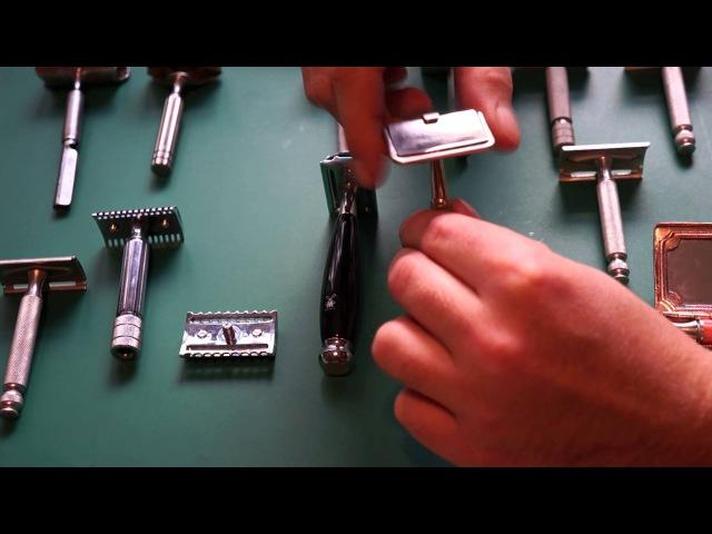 О Т- образных станках для бритья MUEHLE история безопасной бритвы