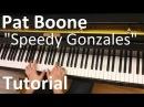 Tutorial: Pat Boone - Speedy Gonzales / Evgeny Alexeev