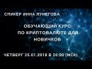 Bitcoin (начало) - Обучающий курс по криптовалюте - Inna Punegova - Virrex.io