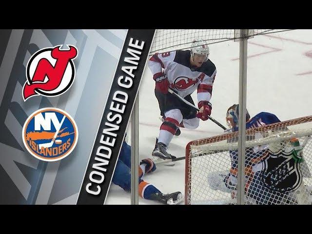 New Jersey Devils vs New York Islanders – Jan. 16, 2018 | Game Highlights | NHL 2017/18. Обзор матча