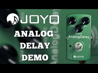 Joyo Analog Delay JF-33 Demo