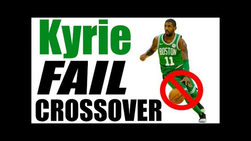 Kyrie Irving FAIL CROSSOVER! Basketball Crossovers Tutorial: Moves To BREAK ANKLES