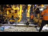 #Видео_дня - В Китае построили железную дорогу за 9 часов.