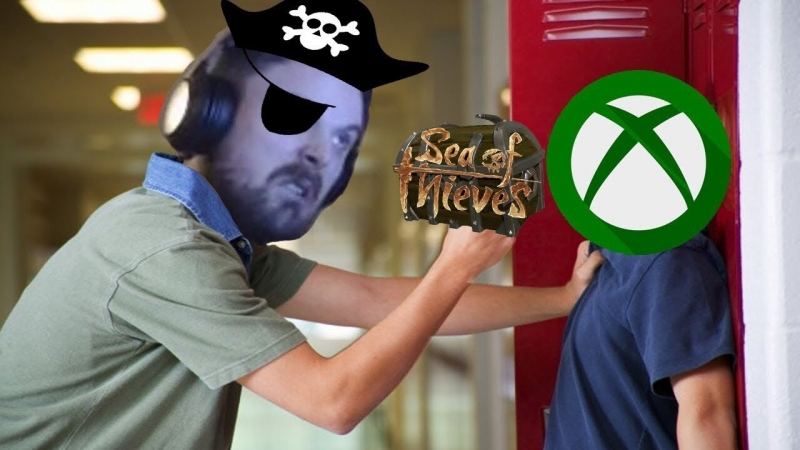 [ForsenTV] Forsen bullies XBOX Players in Sea of Thieves