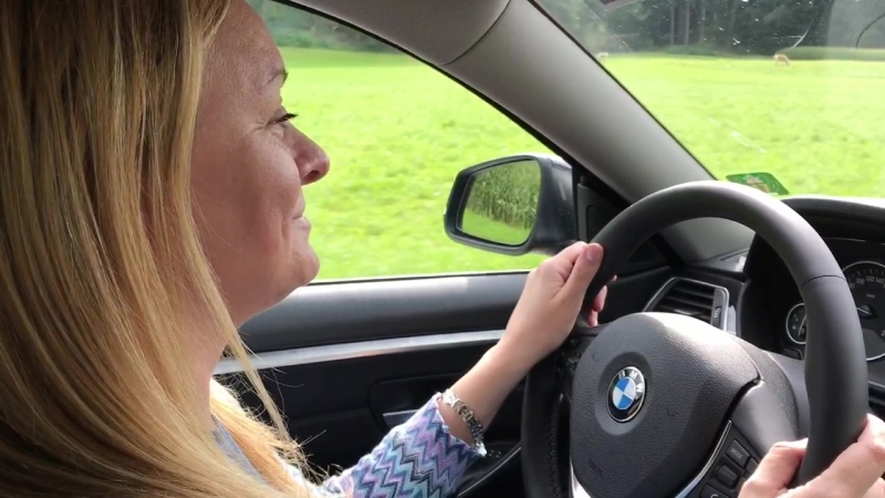 BMW 440i ускорение