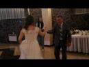 свадьба брата. Танец невесты с отцом.