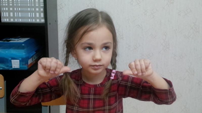 Марине 3 февраля исполнилось 5 лет. Но не смотря на свой возраст, она быстро считает двузначные числа.