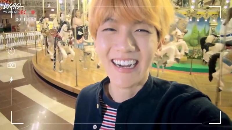 WAO рус саб 151015 EXO Baekhyun Live In Camelot Carrousel Бэкхён
