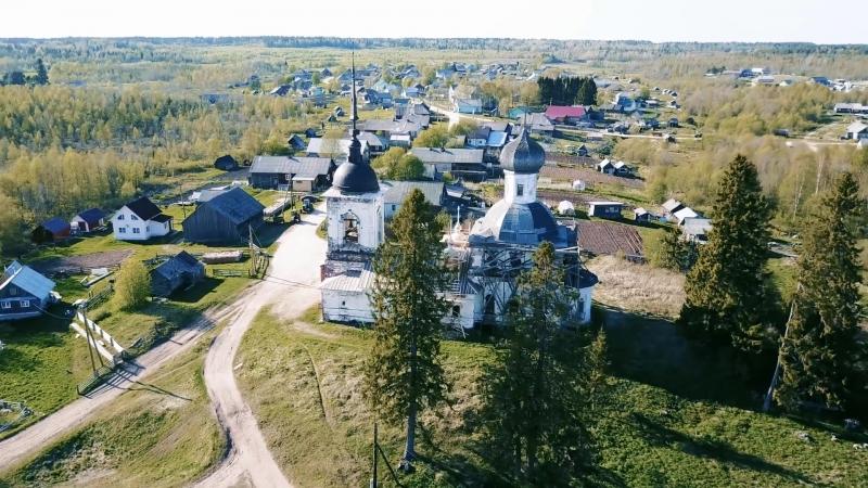 Кенозерье. Архангельская область.