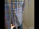 Рубашка в клетку хаки Монтана Хлопок 3