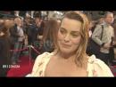 Интервью для «Getty Images» на премьере фильма «Прощай, Кристофер Робин» в Лондоне 3 20.09.2017