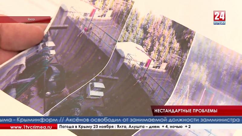 «Вопросов по Ялте очень много, но они все будут решаться», об этом журналистам телеканала «Крым 24» сообщил вице-премьер Крыма В