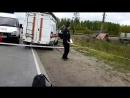 подробности аварии на жд переезде