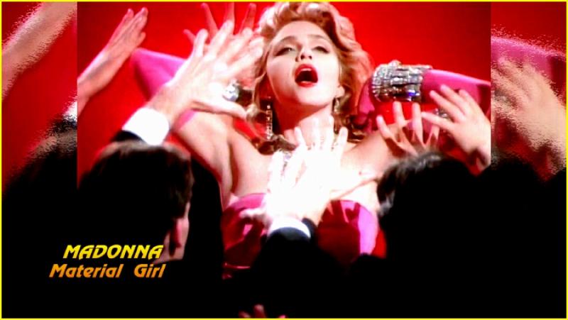 Madonna «Material Girl» (1985)