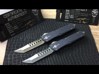 Microtech Custom Marfione Combat Troodon Hellhound Tanto