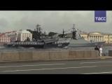 Крым, Сирия и Санкт-Петербург: как прошел парад в честь Дня ВМФ