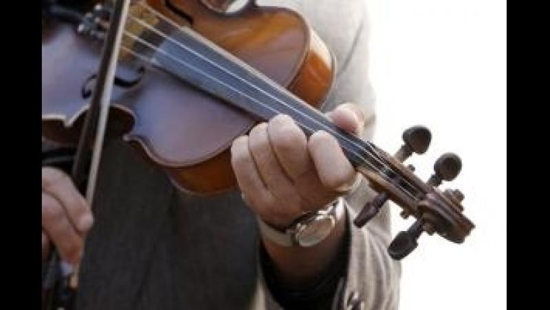 Красивая игра на скрипке. Маэстро Джейхун