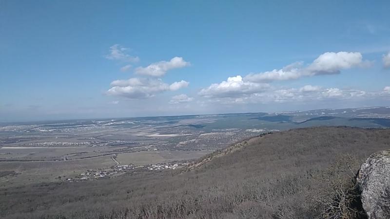 Вид Балаклавы с горы Аю - Кая