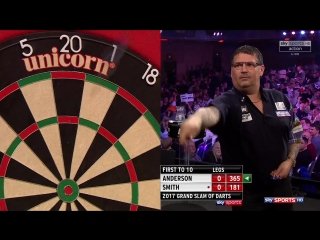 Gary Anderson vs Michael Smith (Grand Slam of Darts 2017 / Round 2)
