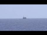 Пуски крылатых ракет «Калибр» по объектам ИГИЛ подлодками ЧФ из Средиземного моря