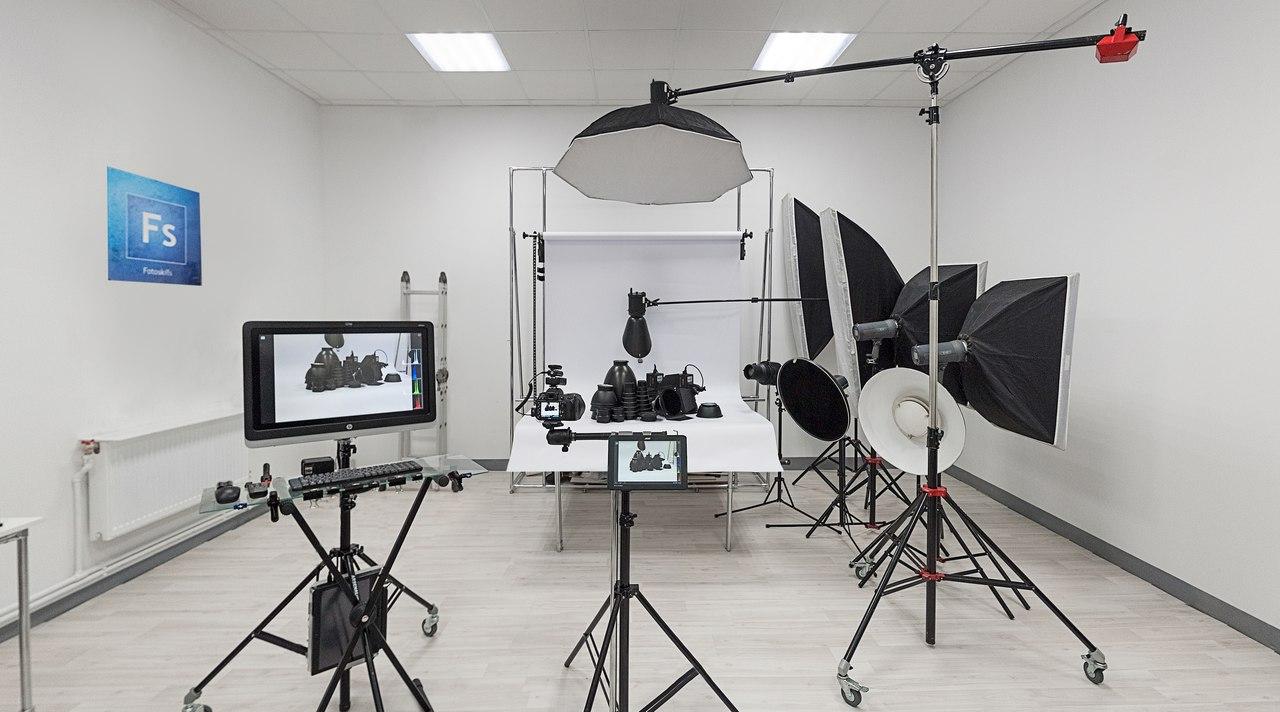 фотостудия для предметной фотосъемки фотографии