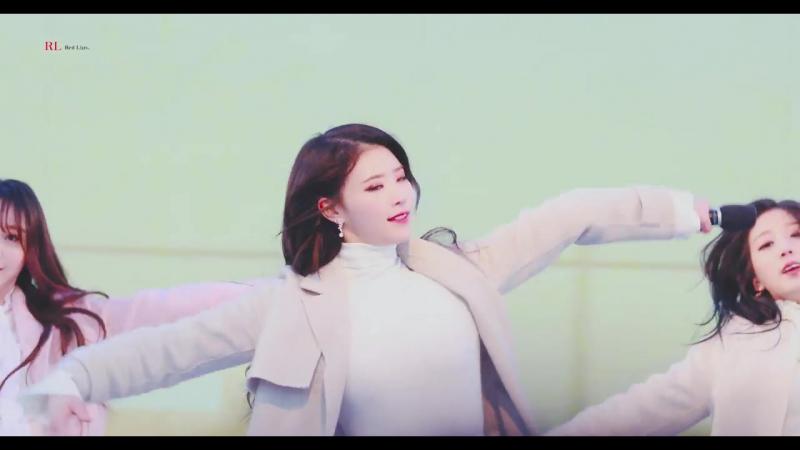 [180123] Mijoo - Hi~ @ «PyeongChang Winter Olympics Torch Relay Celebration Event»