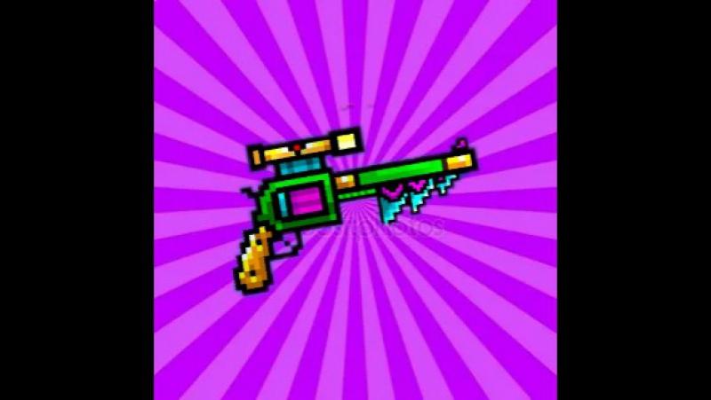 Пиксель ган 3д. Обзор на адамантовый револьвер