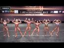 Женский классический бодибилдинг до 163см на Чемпионате Мира по Фитнесу 2017 (Биарриц, Франция), финал