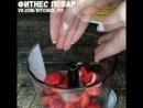 блинный тортик с творожно ягодной начинкой