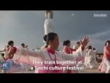 Занятие тайцзицюань 2000 человек на юге Китая