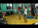 Танец девочек 9-11 классов на новогодний вечер 29 12 2017 МБОУ Вьюковская СОШ
