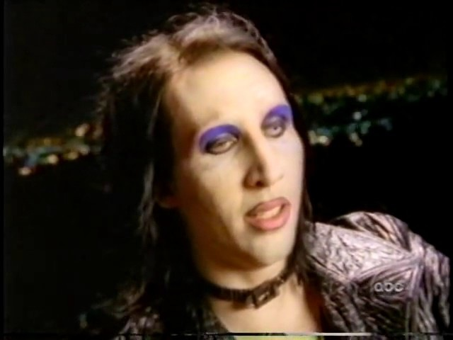 Marilyn Manson Interview 1998