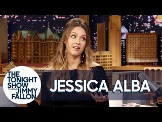 25 октября 2017: Джессика на шоу «Вечернее Шоу с Джимми Фэллоном», Нью-Йорк
