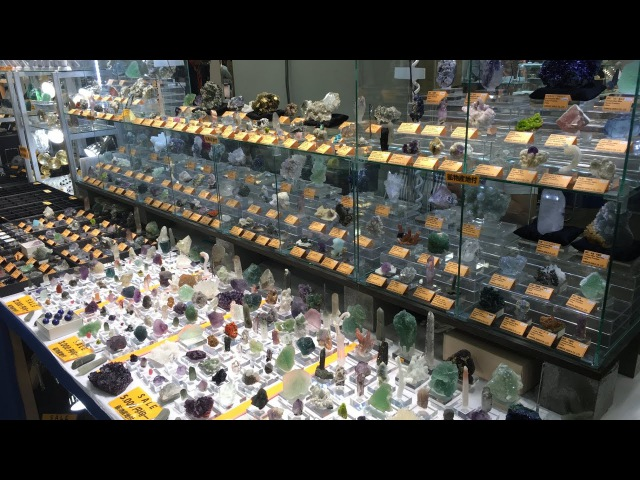 Osaka Mineral Show 2017 − 第23回 石ふしぎ大発見展 大阪ショー