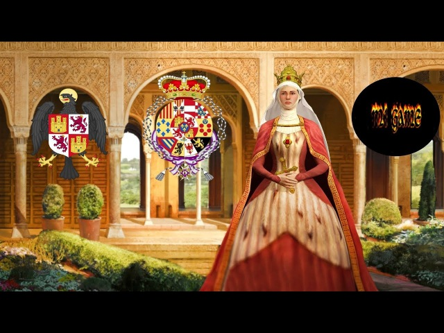 Испания - Королева Изабелла I Кастильская 1