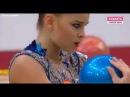 Арина Аверина - мяч квалификация Гран-При Москва 2018