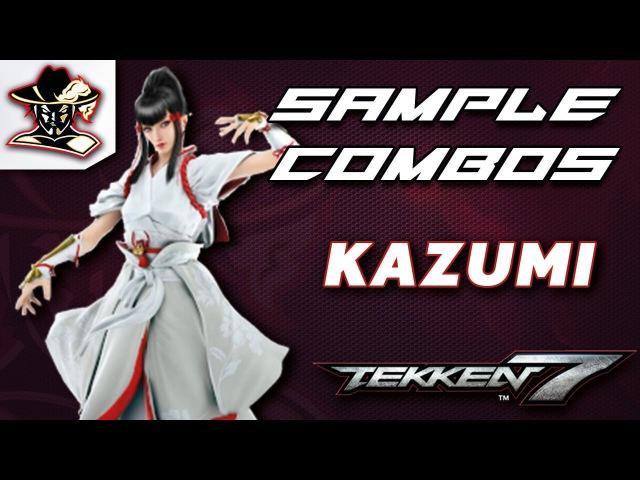 Tekken 7 Kazumi Staple Combos