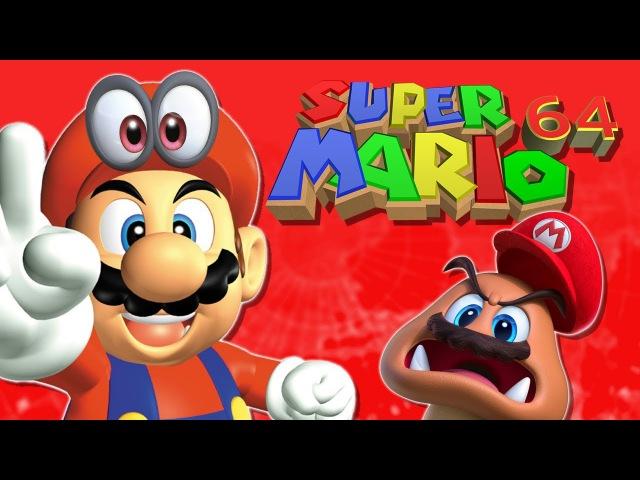 Super Mario 64 Odyssey physics recreation (V4)